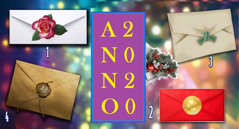 2020: scegli una busta e leggi i consigli per il nuovo anno