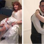 La storia di Almeda e Gary, novelli sposini: lui ha 53 anni in meno di lei