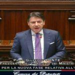Il premier Giuseppe Conte ha appena parlato dalla Camera dei Deputati. Ecco il punto della situazione.