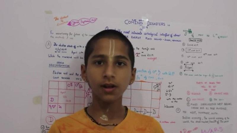 Abhigya Anand, il bambino che aveva predetto il covid, annuncia una nuova catastrofe