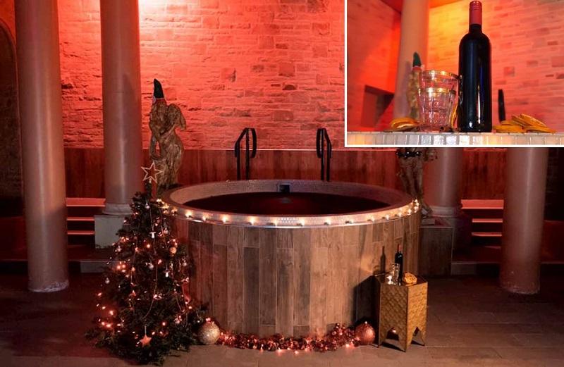 La spa al vin brulè: non siete ubriachi, esiste davvero ed è molto benefica per il corpo