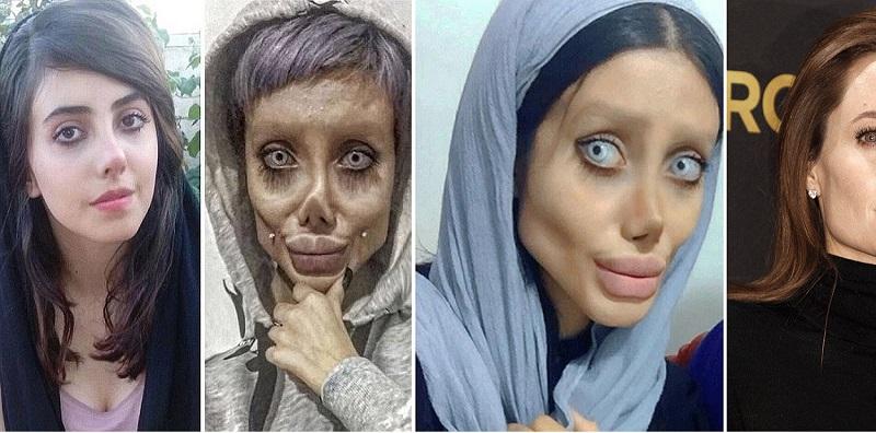 Trasforma il suo aspetto per somigliare allo zombie di Angelina Jolie: per questo finisce in carcere